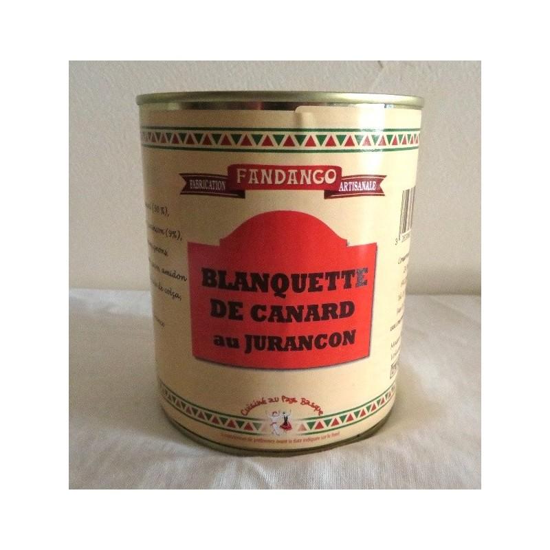 BLANQUETTE DE CANARD AU JURANCON