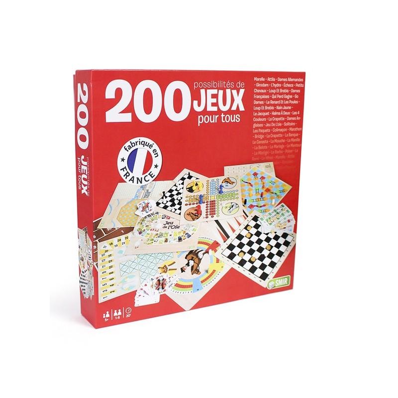 COFFRET 200 JEUX CLASSIQUES