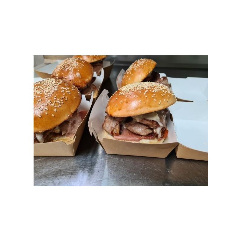 Burger aux aiguillettes de canard