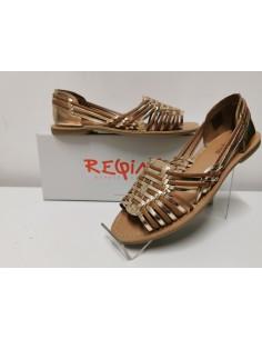 Sandale REQINS cuir Delizia...