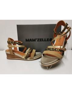 Sandale MAMZELLE cuir Naga or