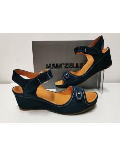 Sandale MAMZELLE cuir marine