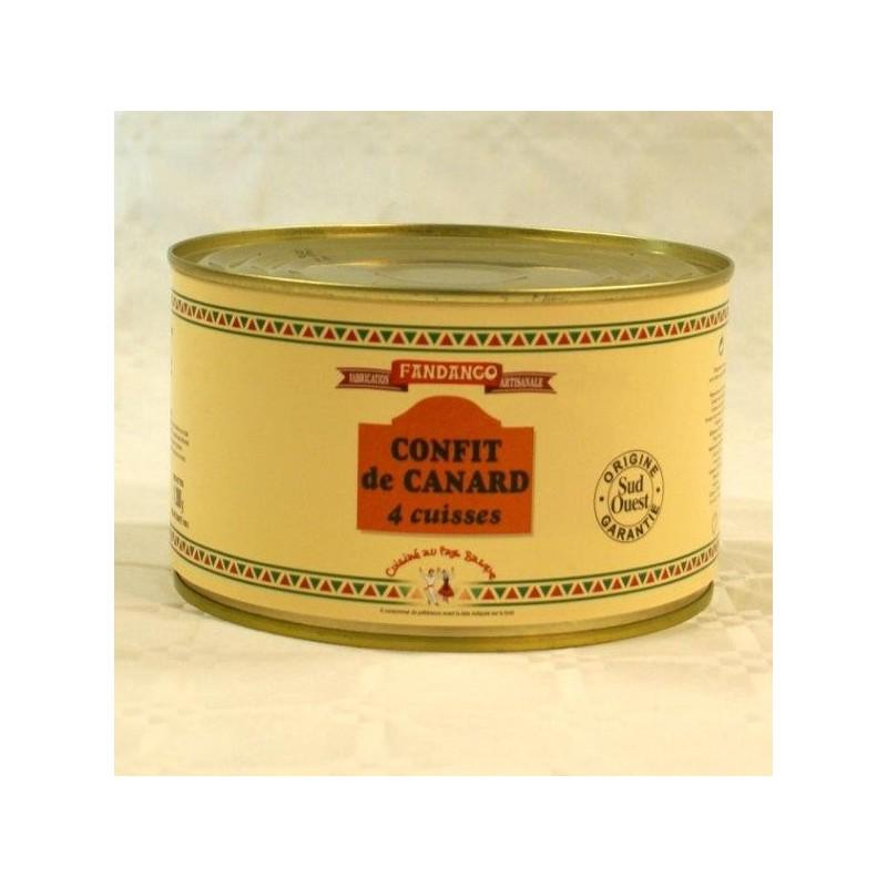 CONFIT DE CANARD 4 CUISSES