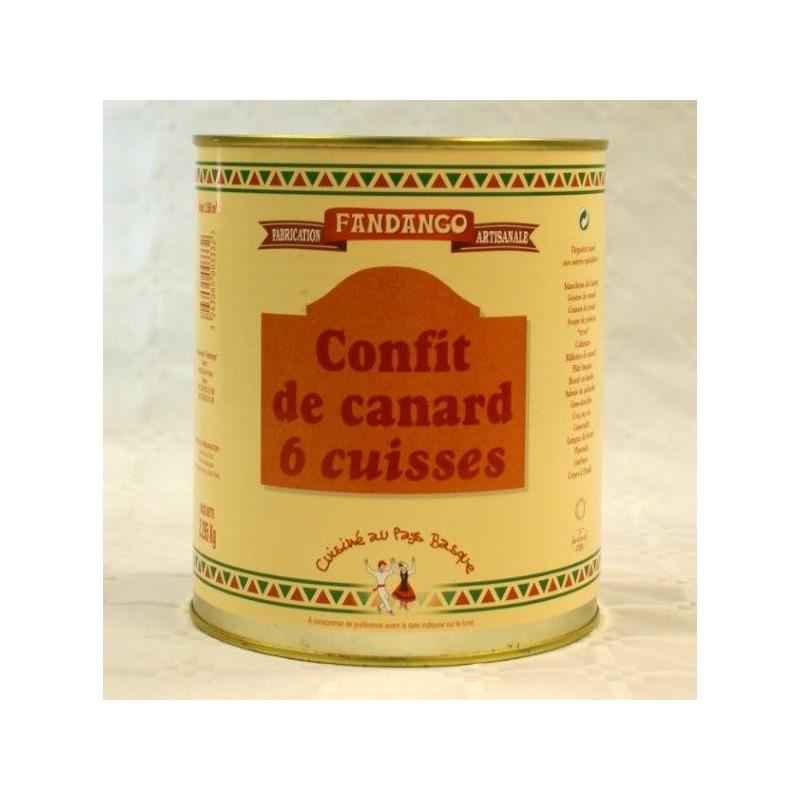 CONFIT DE CANARD 6 CUISSES