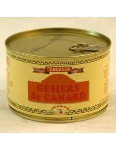 GESIERS DE CANARD ENTIERS