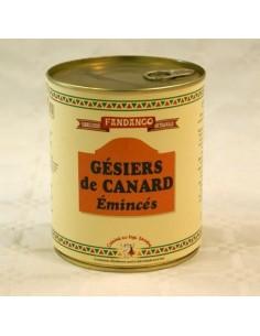 GESIERS DE CANARD EMINCES