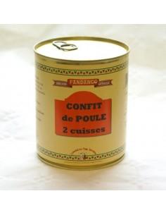 CONFIT DE POULE 2 CUISSES