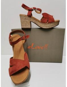 Sandale talon ALIWELL cuir...