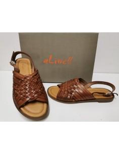 Sandale plate ALIWELL cuir...