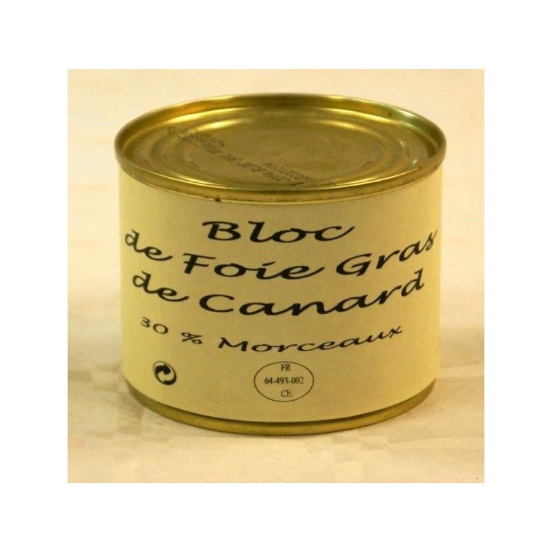 BLOC DE FOIE GRAS DE CANARD 30%